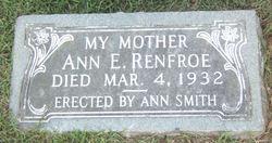 Ann Elizabeth <i>Stone</i> Renfroe