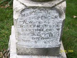 Mary Ann Polly <i>Spencer</i> Bartholomew
