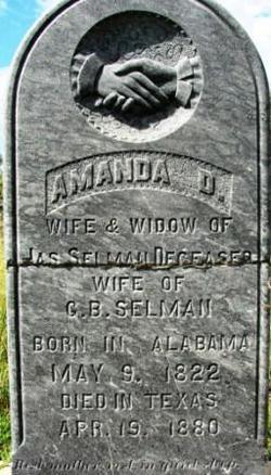 Amanda Deborah <i>Oldham</i> Selman