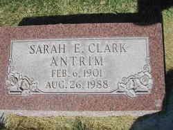 Sarah Eliza <i>Clark</i> Antrim