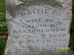 Martha E. Mattie <i>Biggart</i> Bartholomew