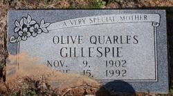 Olive <i>Quarles</i> Gillespie