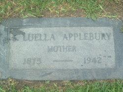 Sarah Luella <i>Dodds</i> Applebury