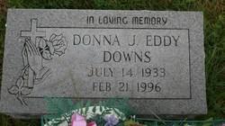 Donna J. <i>Eddy</i> Downs