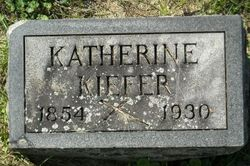 Katherine <i>Irmen</i> Kiefer