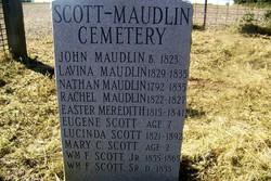 William Franklin Scott, Sr