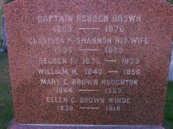 Mary E. <i>Brown</i> Houghton