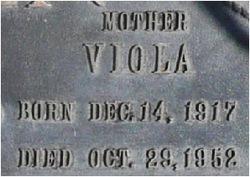 Viola <i>Wilkerson</i> Boulden