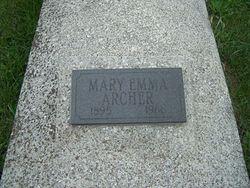 Mary Emma <i>Wood</i> Archer