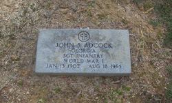 John S Adcock
