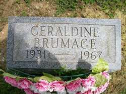 Geraldine Edna <i>Hammer</i> Brumage