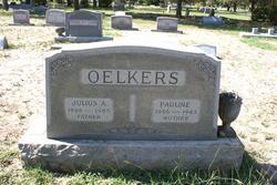 Pauline <i>Schmidt</i> Oelkers