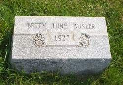 Betty June Busler