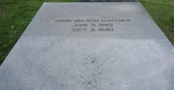 Annie <i>Nelson</i> Gartner