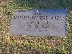 Beatress <i>Rodgers</i> McLean