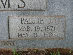 Pallie Lee <i>Cannon</i> Sims