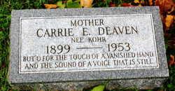 Carrie Ellen <i>Kohr</i> Deaven