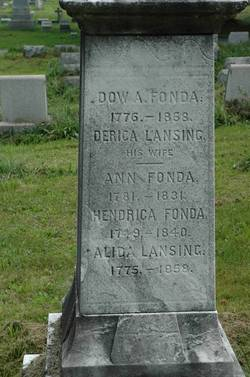 Dirckje Abrahamse <i>Lansing</i> Fonda