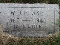 W J Blake