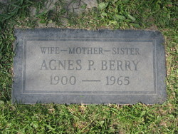 Agnes M. Peters <i>Cully</i> Berry
