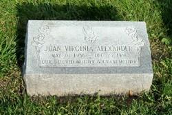 Joan Virginia Alexander