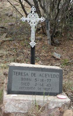 Mrs Teresa <i>Andrada</i> Acevedo
