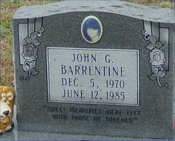 Johnathan Gregory Barrentine