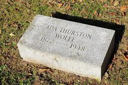 Ada <i>Thurston</i> Wolfe