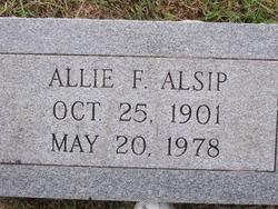 Allie F. Alsip