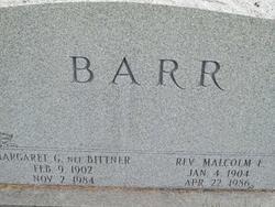 Margaret G. <i>Bittner</i> Barr