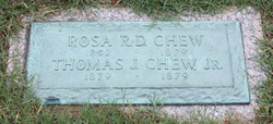 Thomas J Chew, Jr