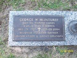George W McInturff