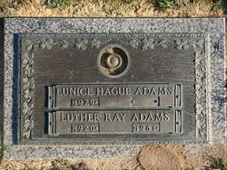 Luther Ray Adams