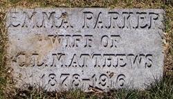 Emma <i>Parker</i> Matthews