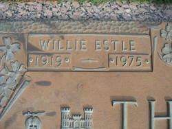 Willie Estle Thomas