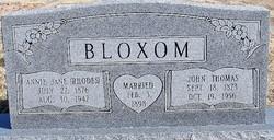 John Thomas Bloxom