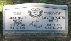 Raymond Walter Boston