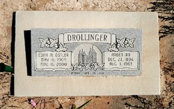 Edna M. <i>Ostler</i> Drollinger