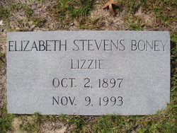 Elizabeth Stevens Boney