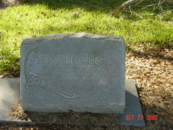 Ione <i>Fore</i> Bailey