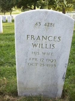 Frances <i>Willis</i> Dodd