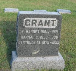 Hannah C <i>Burt</i> Grant