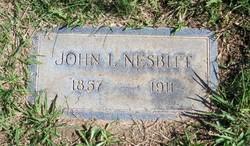 John Lollis (Lawless) Nesbitt