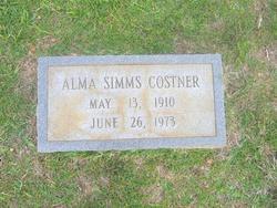 Alma <i>Simms</i> Costner