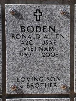 Ronald Allen Boden
