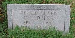 Gerald Oliver Childress