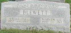 Jewell Inez <i>Lyon</i> Blewett