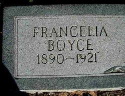 Francelia Boyce