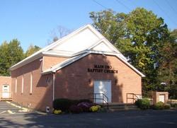 Main Uno Baptist Church Cemetery