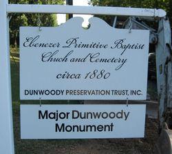 Ebenezer Primitive Baptist Church Cemetery